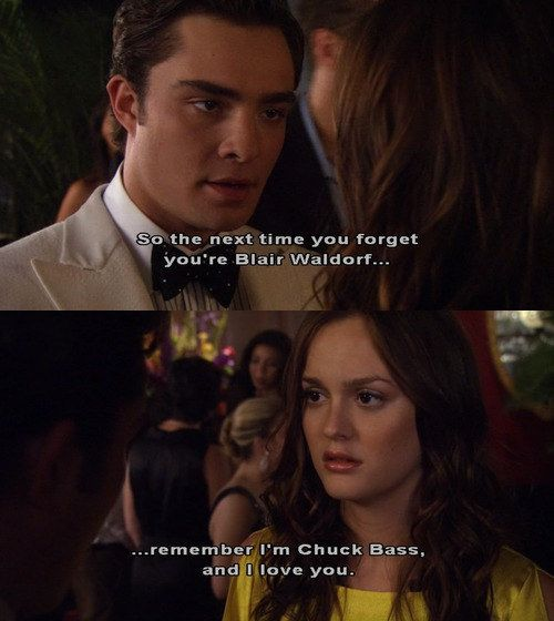Chair FOREVER! | 25 Life-Changing Relationship Lessons We Learned From Chuck And Blair