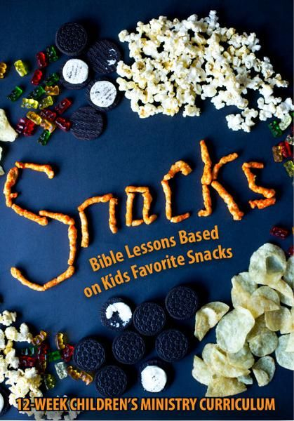 Bible Lessons Based on Kids' Favorite Treats. This fun Children's Ministry Curriculum will teach kids that no snack compares to the goodness of God.