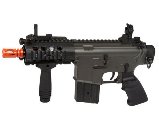 Jing Gong M4 Stubby Killer FPS 350 Electric Airsoft Assault Pistol