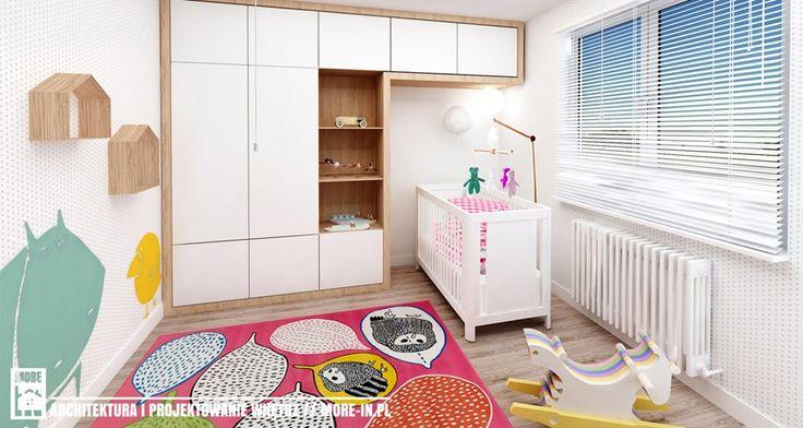 Mieszkanie we Wrocławiu 68m² - Średni pokój dziecka dla chłopca dla dziewczynki dla niemowlaka - zdjęcie od More IN