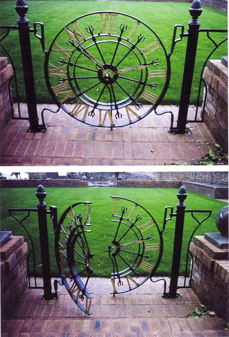 Exeter Wrought Iron Gates Devon by artist Paul Gilbert