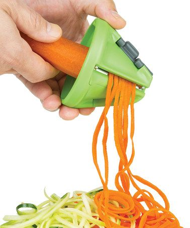 Get great deals on all kinds of items at zulily. This is the only place I shop now. This Hand-Held Veggie Pasta Maker by Progressive is perfect! #zulilyfinds