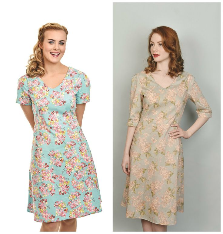 free tea dress sewing pattern with Issue 15