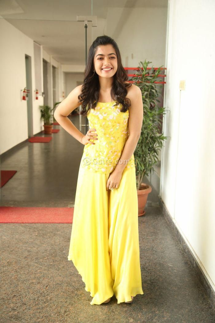 Rashmika Mandanna At Bheeshma Promotions In 2020 Strapless Dress Formal Beauty Full Girl Actresses