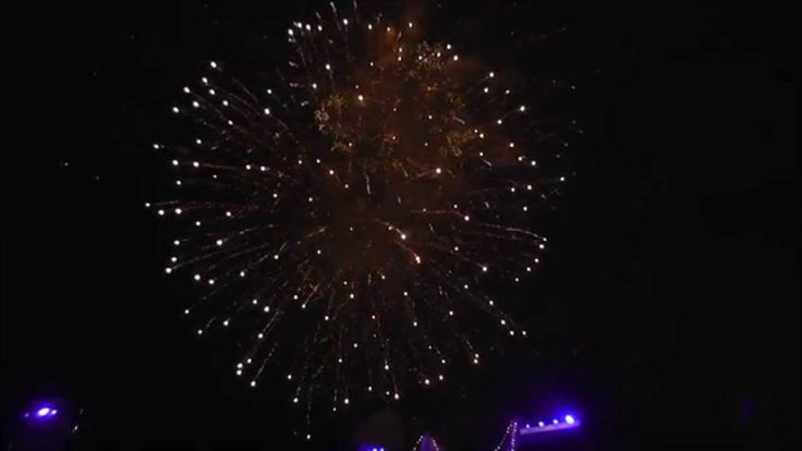 Symphony In The Domain Fireworks 2015