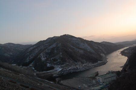 Soyang Dam (소양댐), Korea.  For the slideshow of my trip, visit http://www.shinshine.com/my-blog/2012/03/chuncheon-trip.html