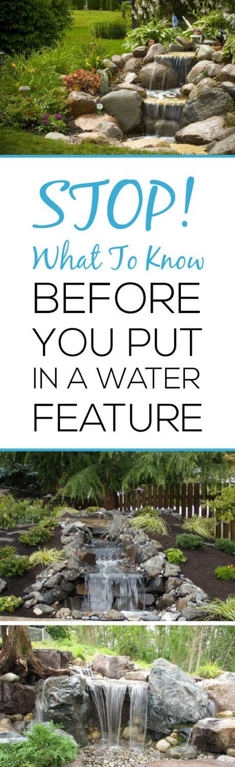 Water features are a great way to add interest and the 'wow' factor to your landscape.  However, these additions are usually a lot more complex and detailed than you may think.  In order to successfully install a water feature in your yard here are several things that you need to know before you