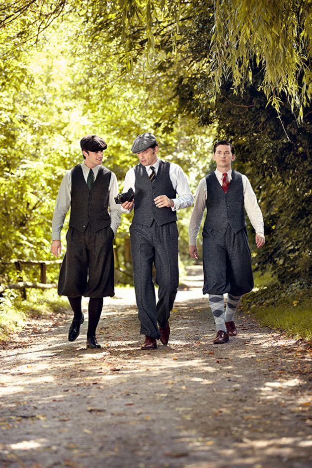 VECONA VINTAGE Tweed Knickerbocker 30er Retro