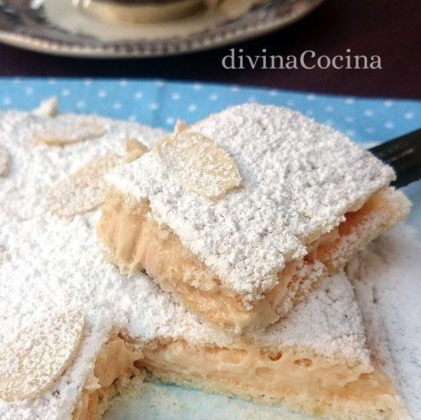Este pastel ruso del que todos hablan tiene en realidad origen español. Aquí tienes la receta sencilla aunque hay muchas variantes según los gustos.