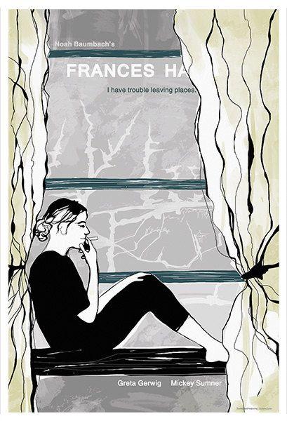 Frances Ha Alternative Movie Poster Original by TerminalPresents