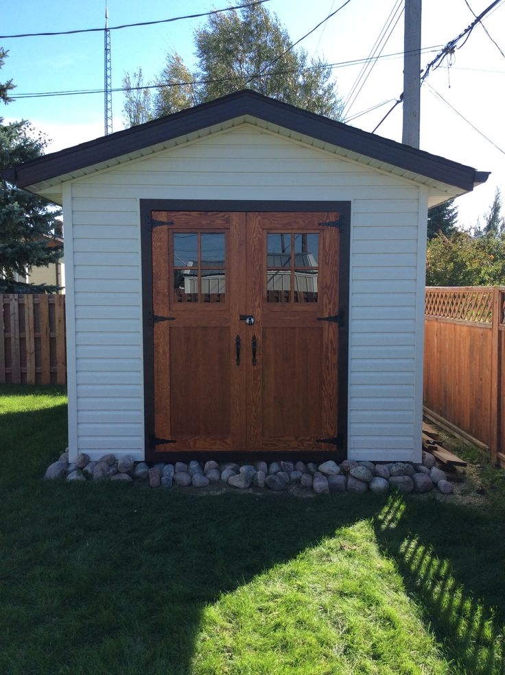 Douglas Fir Shed Doors In Minwax S Gunstock Stain