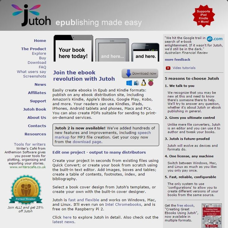 Jutoh Ebook Formatter / Editor For Windows, Mac and Linux. Create Epub and Kindle books, Epub Converter For Mac And PC, Epub Software For Mac And PC, Epub Creator For Mac And PC, Kindle Epub Editor Software, iPad Epub Creator Software, Epub Editing