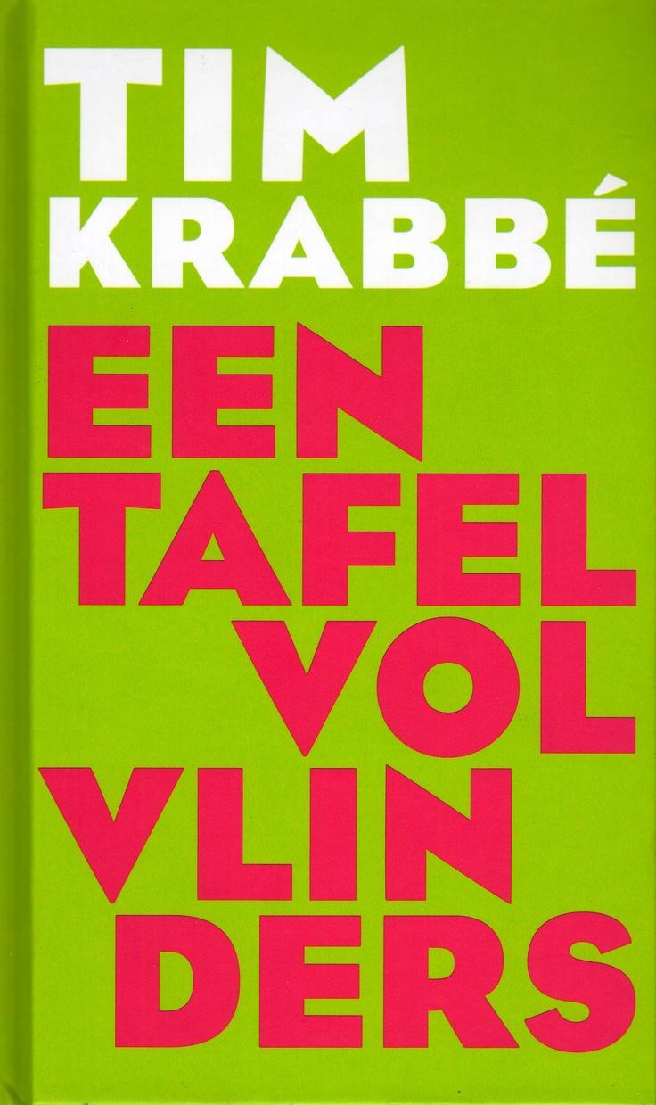 Tim Krabbé, Een tafel vol vlinders