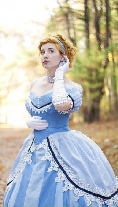 Historically Accurate Disney Princess Cosplay: Cinderella