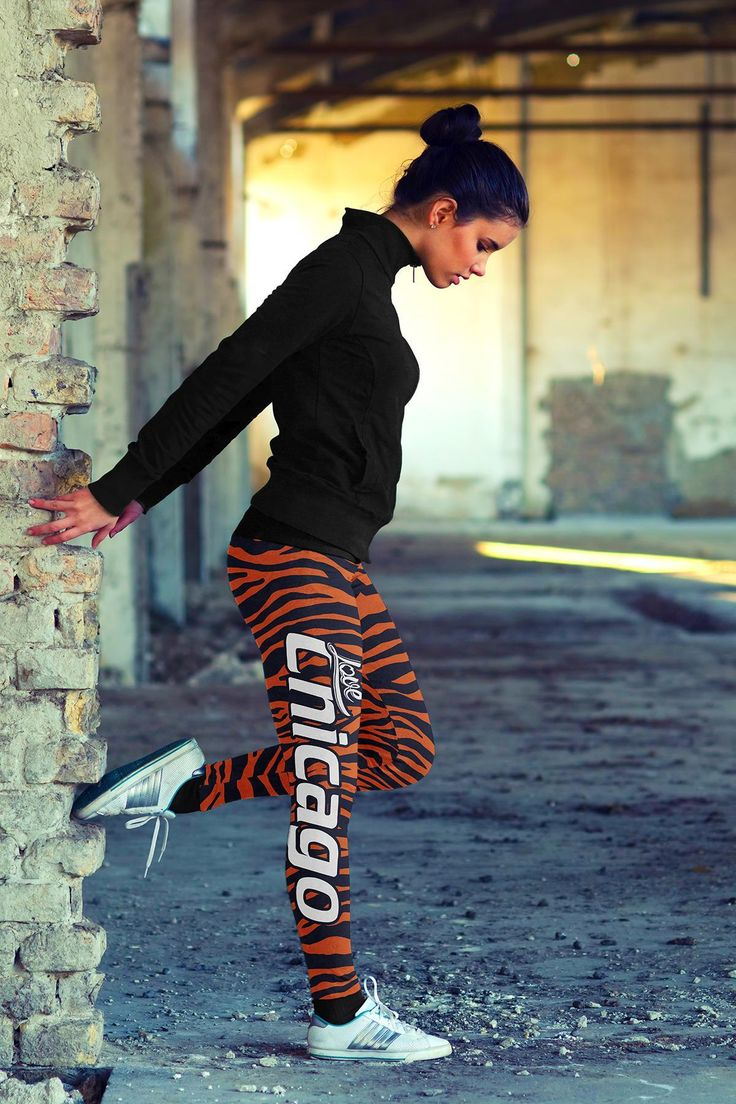 New in store today Chicago Football ... Check it out here!  http://hi-siena.com/products/chicago-football-striped-leggings?utm_campaign=social_autopilot&utm_source=pin&utm_medium=pin