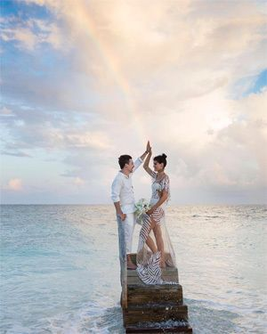 祝・結婚! イザベリ・フォンタナ wow!get the rainbow.