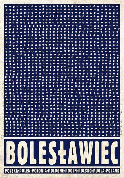 Zdjęcie numer 6 w galerii - Polskie miasta i miasteczka na plakatach Ryszarda Kai