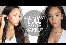 Maquillaje para piel morena con acné