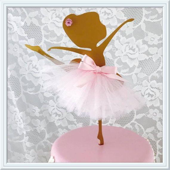 Torta Ballerina bailarina Metal colgante por MemoryKeepsakeParty
