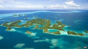 archipiélago de Palaos