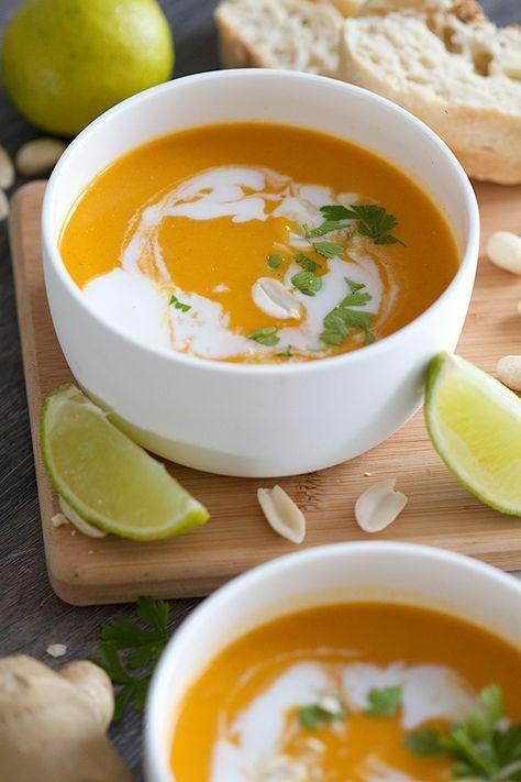 Thaise butternut soep