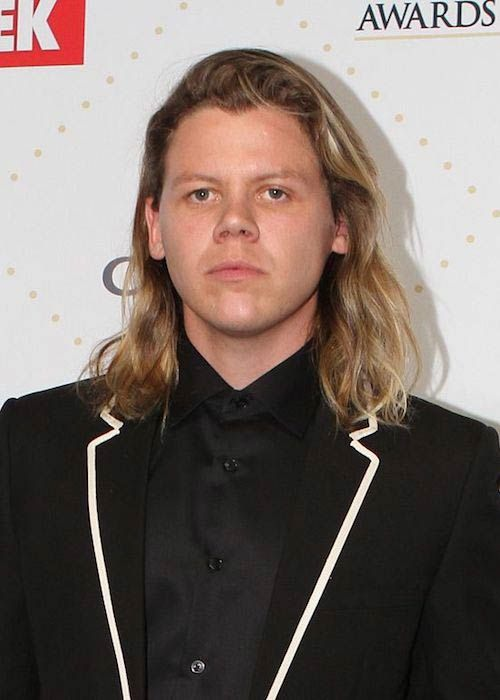 Conrad Sewell at TV Week Logie Awards in 2016...