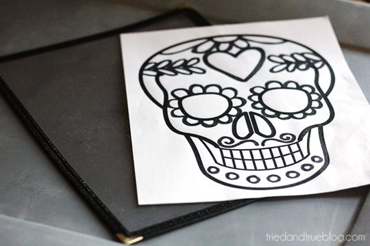 Dia De Los Muertos Free Printable from Tried & True