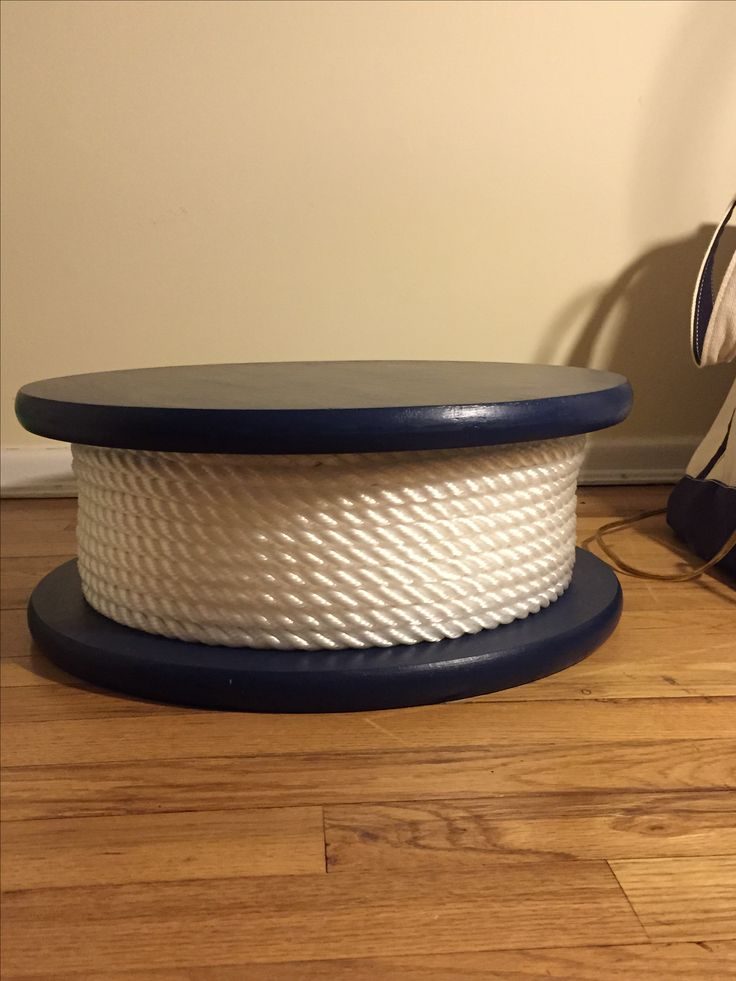 My nautical wedding theme cake stand