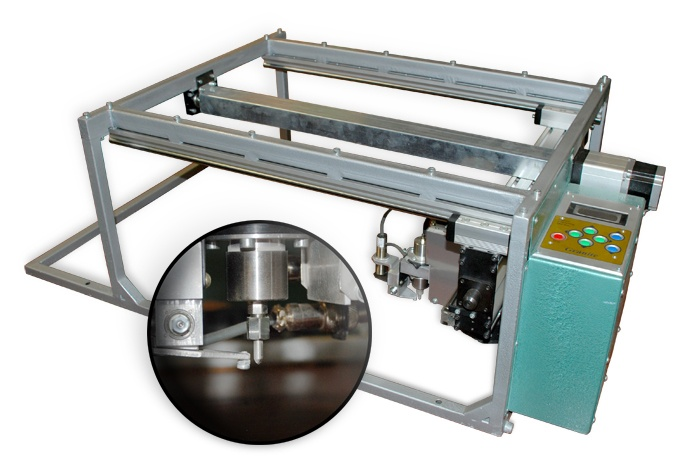 Impact Etcher - The Granite™ Diamond Impact Etching Machine is the next step in Mechanical etching machines. It has potential to get the job done faster and right the first time. It also comes in 2 sizes depending on the size of your shops, Portable, Mid-Range, and Large.    • Not a Laser  • Easy to use  • Reliable