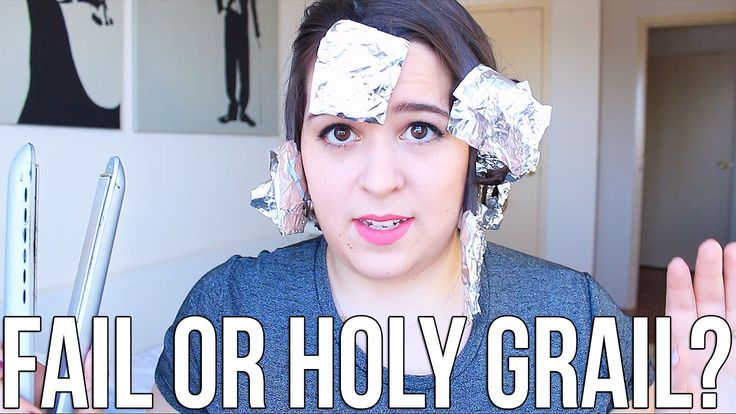 Beauty Hacks: Fail or Holy Grail? ♥ Tin Foil Curls | Ellko