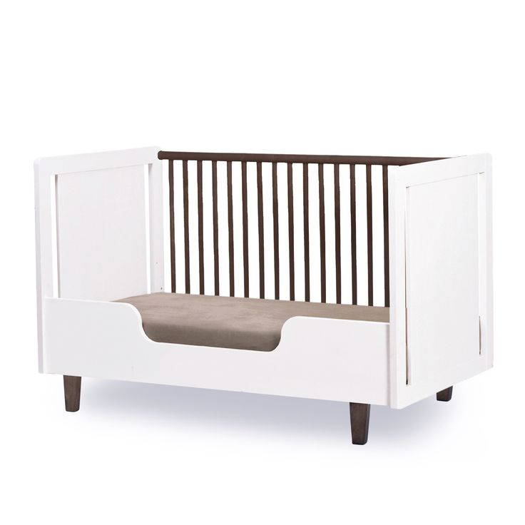 Combining Warm Wood Tones And Crisp White, The Rhea Crib Brings Modern  Style To The