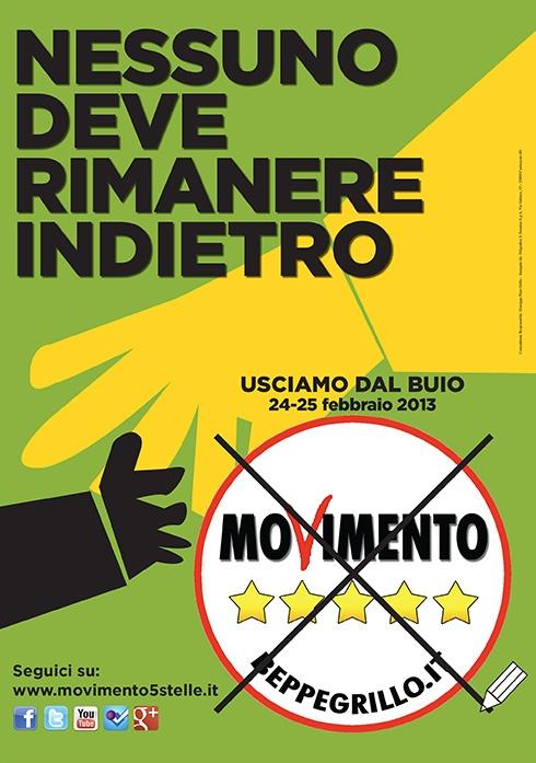 Nessuno deve rimanere indietro - 2013 - Movimento 5 Stelle - Beppe Grillo