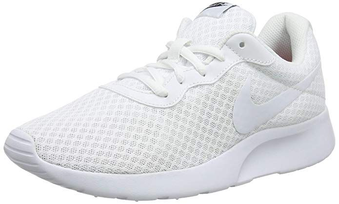 Nike Tanjun Damen Sneaker Laufschuhe Komplett Weiss Laufschuhe Nike Damen Schwarze Laufschuhe