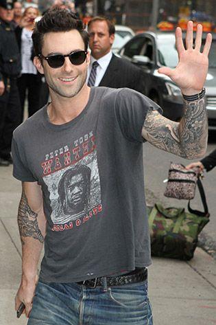The Sexiest Man Alive! Adam Levine Sunglasses Style