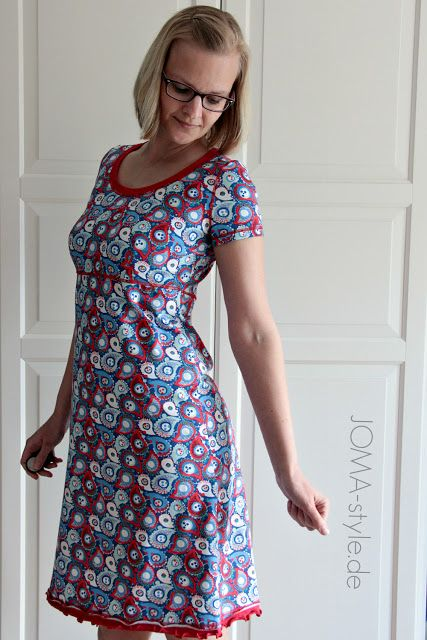 ein fantastisches kleid im JOMA style. schnitt aus meinem buch: ein schintt- vier styles