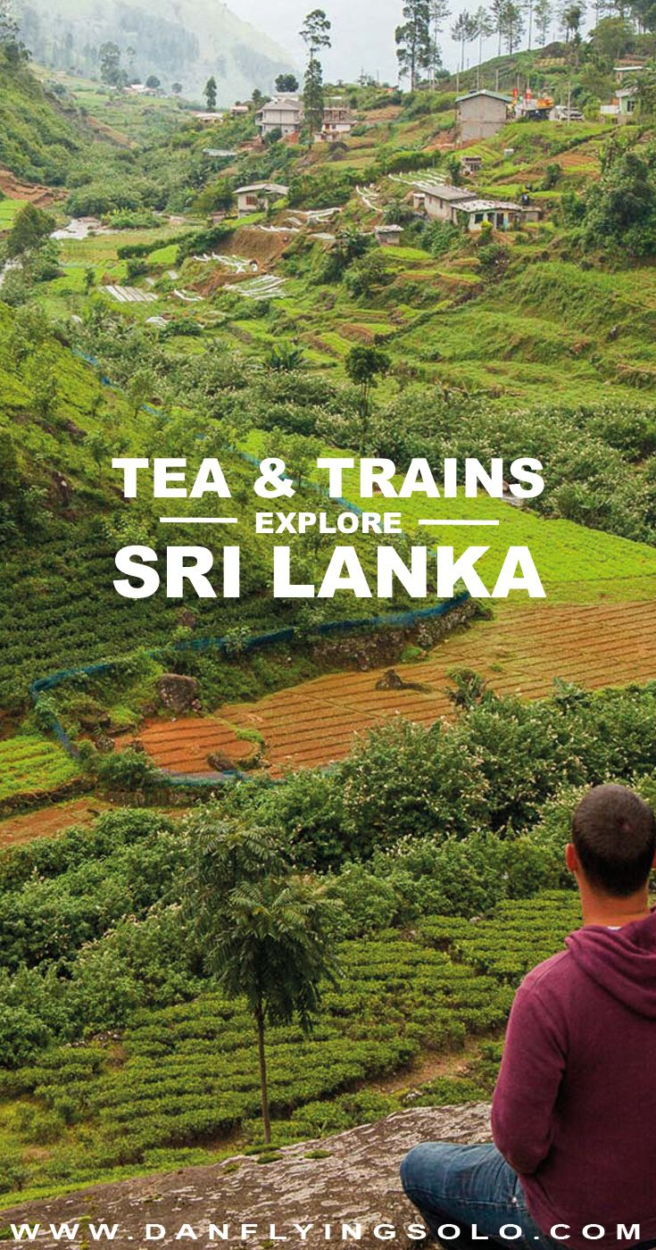 #VisitSriLanka The breathtaking train from Kandy to Ella delivers you to Sri Lanka hill country. Tea plantations, rolling hills and a slower pace of life welcome you.