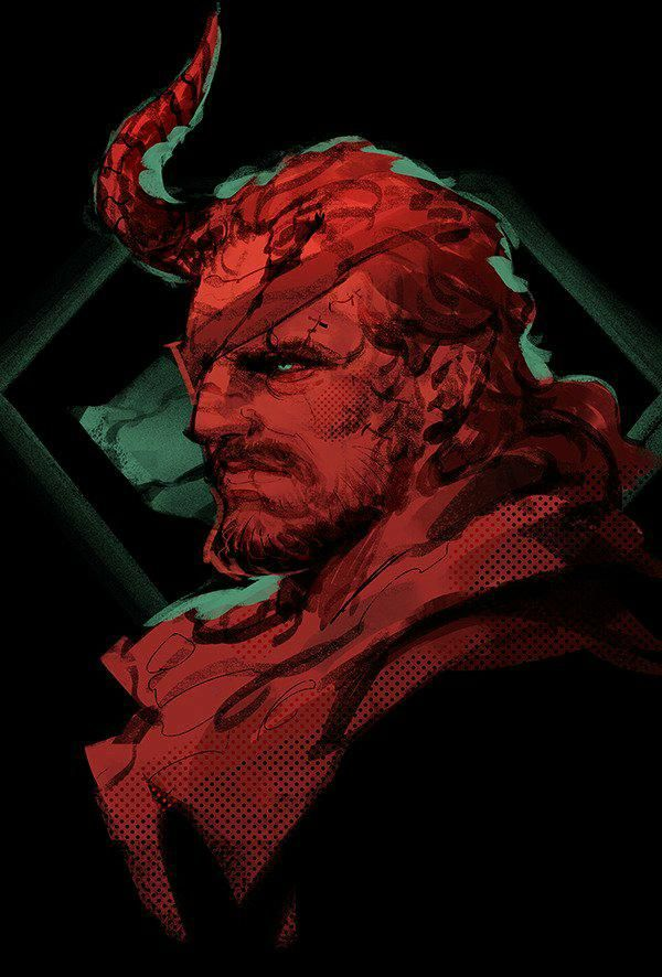 If only demon snake looked like this instead of being bathed in blood... #MetalGearSolid #mgs #MGSV #MetalGear #Konami #cosplay #PS4 #game #MGSVTPP
