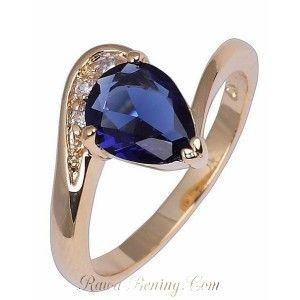 Cincin Wanita Ring 8 Model Sapphire