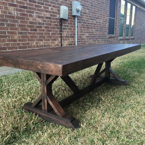 Farmhouse Dining Table 7 and 8ft available
