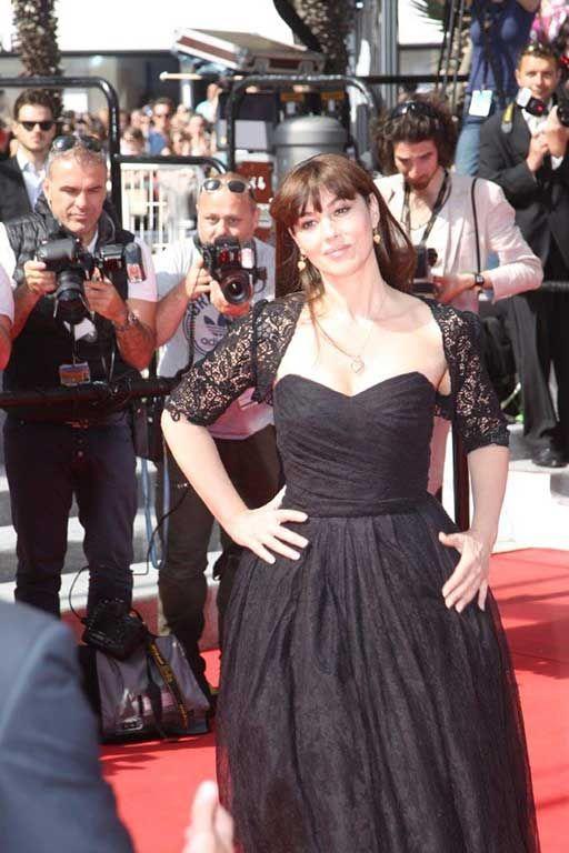 Monica Bellucci a Cannes 2014. Foto di Pietro Coccia