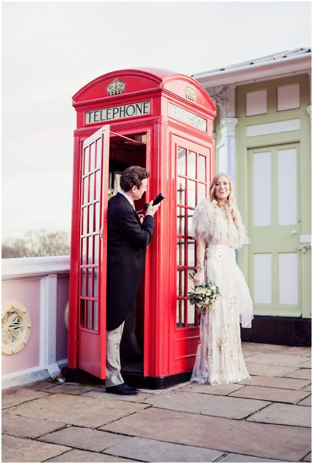 Glamorous London Wedding by Yellow Bird Photography >> What a lovely wedding!