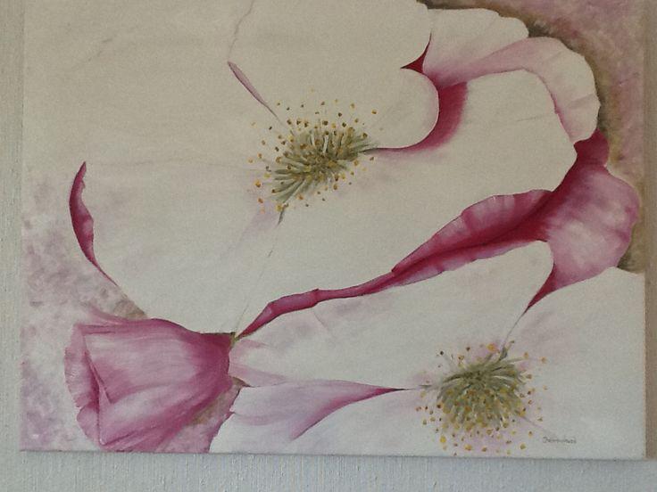 Pink flowers.  By Britt-Helen.