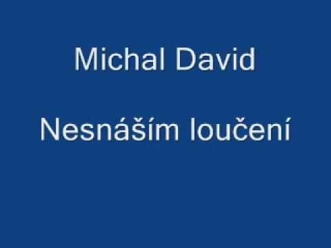 Michal David-Nesnáším loučení - YouTube