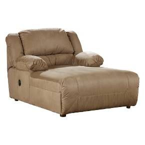 Chaise Lounges Mocha Brown Vanilla - Signature Design by Ashley