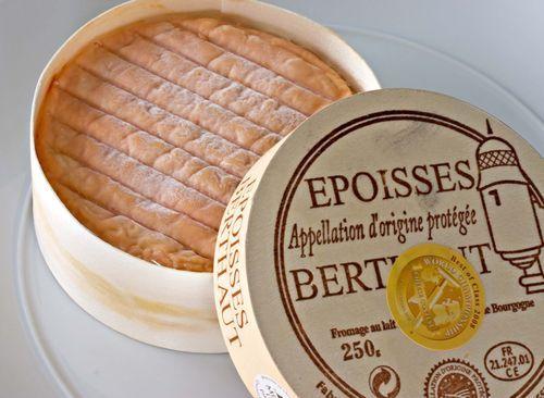 Epoisses de Bourgogne (France) soft, sweet, salty and creamy milk flavor