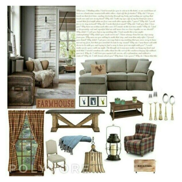 """Country chic"" by raffaellapapami on Polyvore featuring interior, interiors, interior design, home, home decor, interior decorating and country"