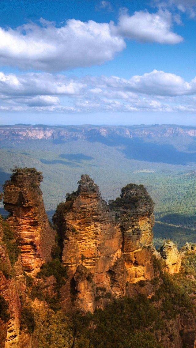 **Blue Mountains, Three Sisters Rocks, Australia