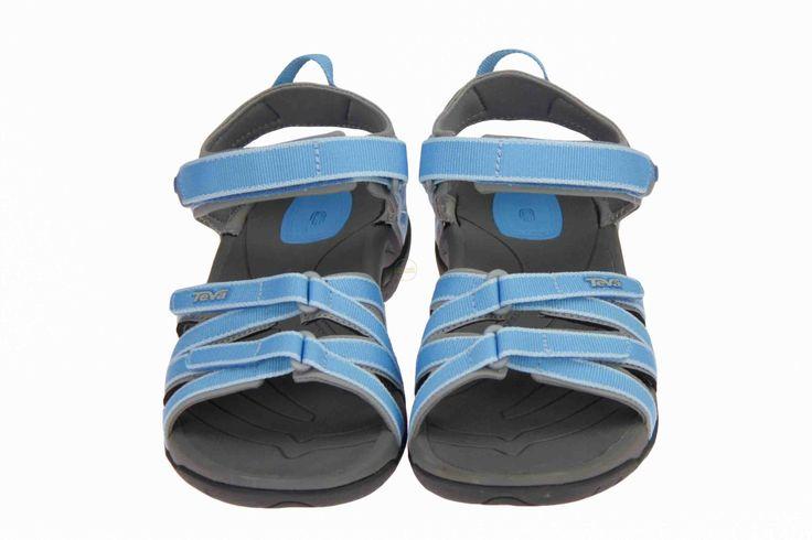 Teva blauwe sandalen Tirra, ideaal voor op wandel, aan zee of strand. #Teva #sandalen #Zomer2014 #SchoenenCaramel
