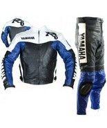 YAMAHA R6 MOTORBIKE LEATHER SUITE, YAMAHA JACKE... - $290.00