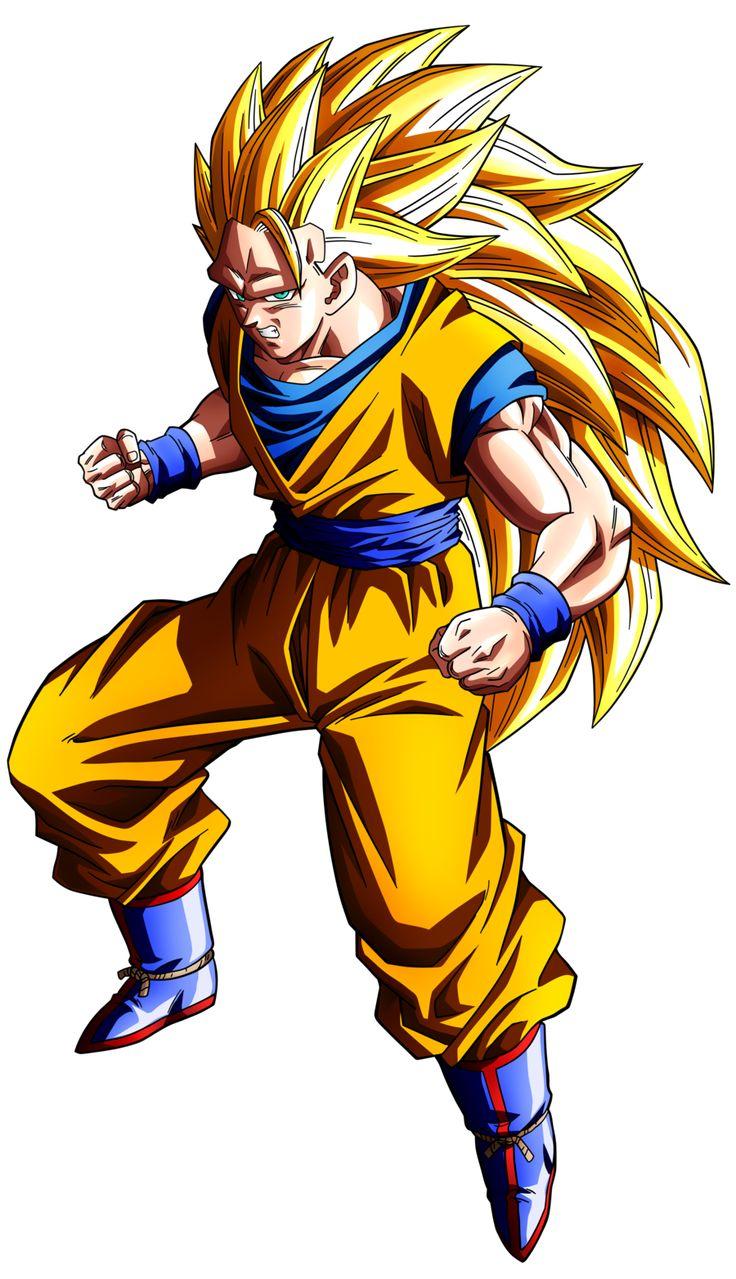 Goku Ssj 3 v.2 by maffo1989